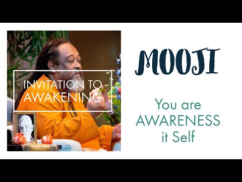 Mooji Guided Meditation (no music):  Invitation to Awakening – You are AWARENESS it Self