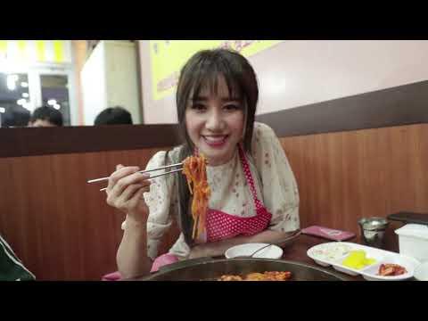 Hari Won - Siêu Ham Ăn   Gà phô mai cay Hàn Quốc (du lịch Seoul) 하리원-시우함안ㅣ한국치즈붉닭(서울여행) - Thời lượng: 9:30.