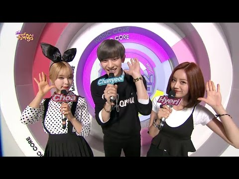 【tvpp】chanyeol(exo) - Special Mc, 찬열(엑소) - 스페셜 Mc를 맡은 대세돌 찬열! @ Show Music Core Live