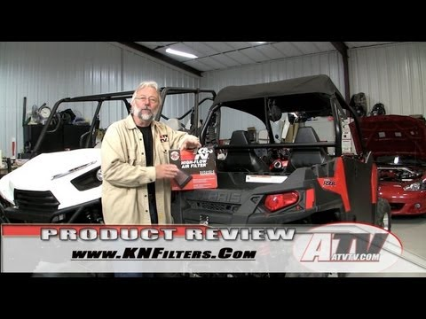 K&N Performance Air Filter on Polaris RZR 570 - ATVTV Review