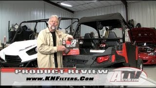 10. ATV Television - K&N Performance Air Filter on Polaris RZR 570