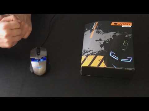 CANYON Tyrant SGM7 геймърска мишка - Видео 1