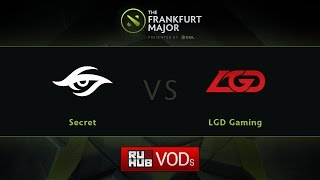 Secret vs LGD.cn, game 1