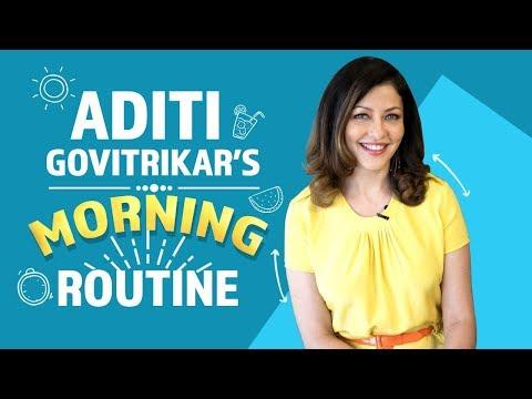 Aditi Govitrikar's Morning Routine   Fashion   Bollywood   Pinkvilla