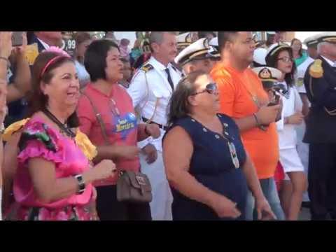 Giro dos Folguedos anima Feira Literária do Pontal da Barra