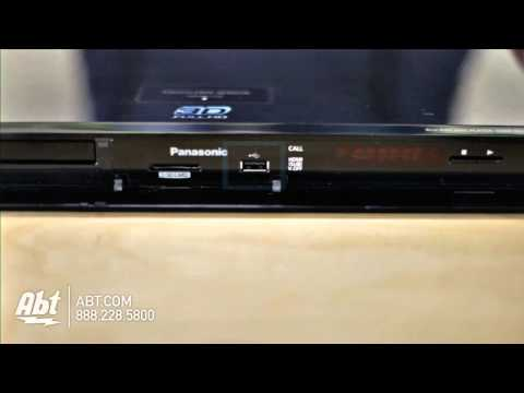 Overview of Panasonic Full HD 3D Blu-Ray Disc Player - DMP-BDT310