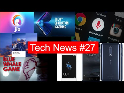 Tech News #27 JioPhone Registrations, Meizu M6 Note, Intel 8th Gen, Coolplay 6, Nokia 5, Redmi 5A