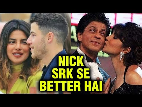 Priyanka Chopra COMPARES Boyfriend Nick Jonas With Ex Shah Rukh Khan