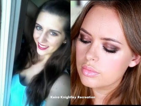 Recreating Tanya Burr's Keira Knightly Makeup Tutorial
