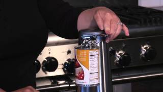 Deluxe Stainless Steel Can Opener Demo Video Icon