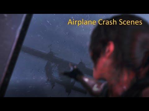 Shadow of the Tomb Raider - Airplane Crash Scenes