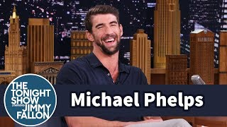Michael Phelps geeks out over his love of sharks and reveals just how close he was willing to get to his favorite animals to race it for Shark Week's Phelps Vs ...