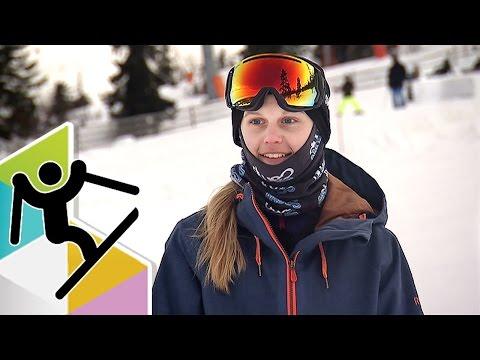 Jennie-Lee är grym på slopestyle (видео)