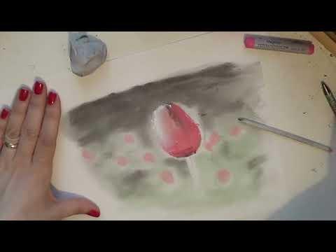 Corso di Disegno,Lez.n.7: Disegnare con i PASTELLI, utilizzo e resa (Arte per Te)