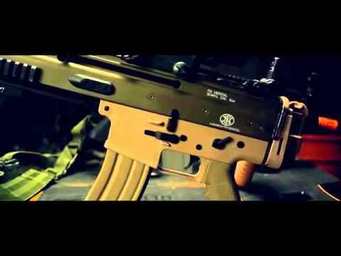 SUR1810. Este es el fusil SCAR-L que Chile compró para la Infantería ...