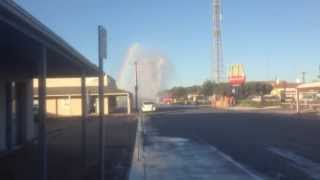 Kadina Australia  city images : Burst Water Main Through Road - Kadina South Australia