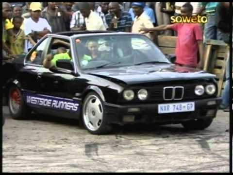 gusheshe - This is clip of the Sport of drifting and spinning cars that took place in Soweto.