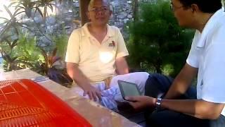 Ramah Tamah Bersama Gede Prama ,menjelang Retret