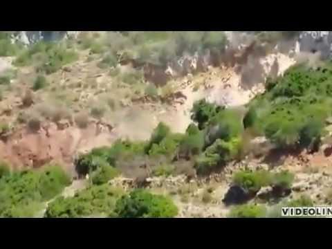 sardegna: crolla la miniera di acquaresi e la montagna sprofonda!