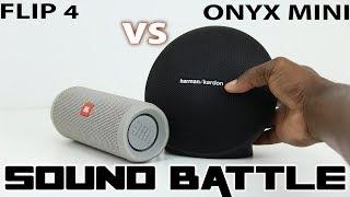 Onyx Mini vs Flip 4 :SoundBattle