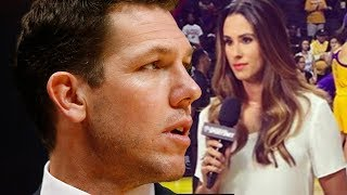 Former Lakers Coach Luke Walton Being SUED For SEXUAL ASSAULT By Famous Sports Reporter by Obsev Sports
