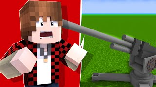 Minecraft - Blowing Up My Friends House With Missile Turrets In Crazycraft | JeromeASF