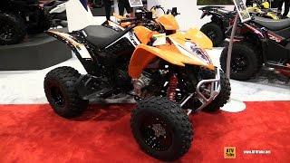 3. 2017 Kymco Mongoose 270 Sport ATV - Walkaround - 2016 AIMExpo Orlando