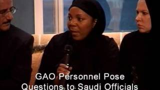 GAO: GAO Visit to a Saudi Government Operated Rehabilitation Center