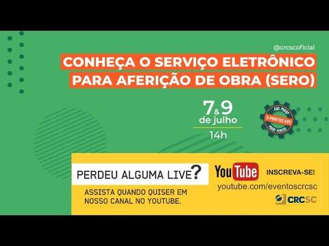 """Palestra """"Conheça o serviço eletrônico para aferição de obra (SERO)"""""""