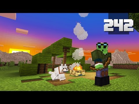 Let's Play Minecraft - Ep.242 : Realistic Camping #2/IT HAPPENED AGAIN!