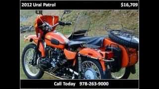 6. 2012 Ural Patrol New Motorcycles Boxborough MA