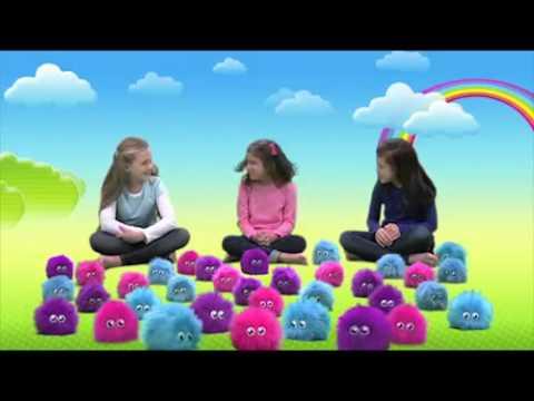 Мягкая интерактивная игрушка Flufflings «Лохматик Тиззи - Веселые прыжки»