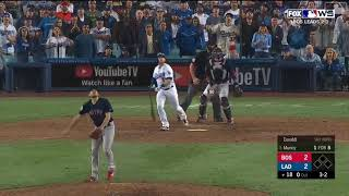 Max Muncy Walk Off Solo Home Run vs Red Sox | Dodgers vs Red Sox World Series Game 3