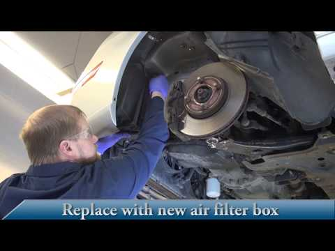 05-07 Ford Focus Air Filter Box Installation