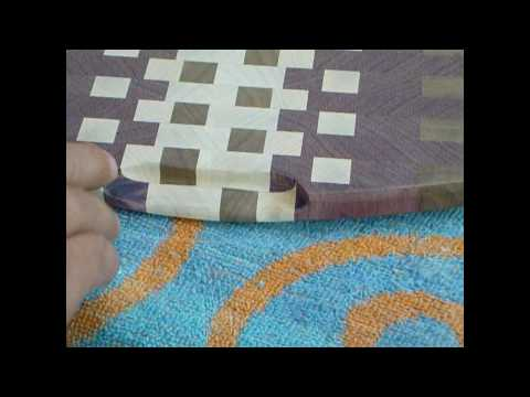 making an endgrain cutting board pt6