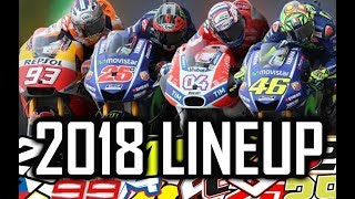 Video 2018 LINEUP MOTO GP - Riders & Team - HD MP3, 3GP, MP4, WEBM, AVI, FLV April 2018