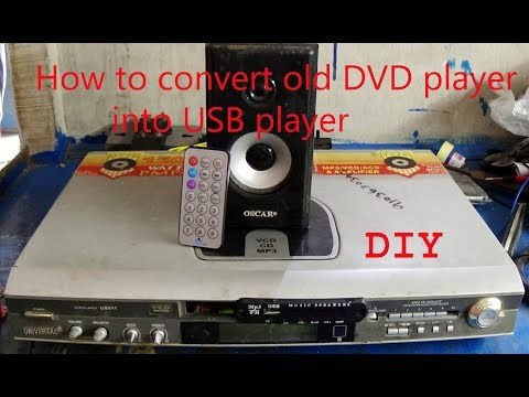 , title : 'How To Convert old DVD player into USB player (DIY)'