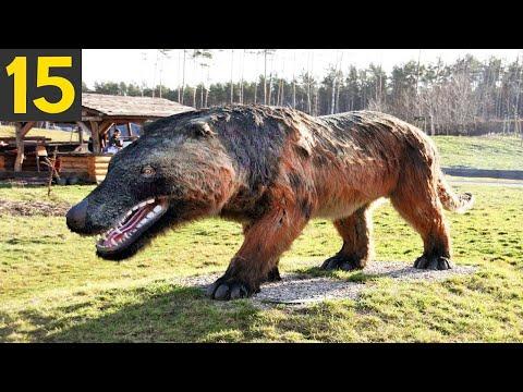 15 AWESOME Extinct Animals They Should Resurrect
