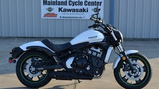 2. $7,399:   2015 Kawasaki Vulcan S ABS White  Overview and Review