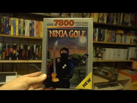 Ninja Golf (Atari 7800) James & Mike Mondays