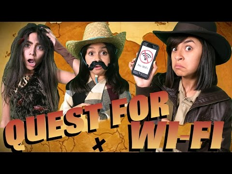 Quest For Wi-Fi : SKETCH COMEDY // GEM Sisters