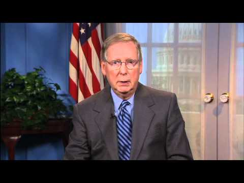 Senator McConnell comments on FCC's net neutrality regulations.