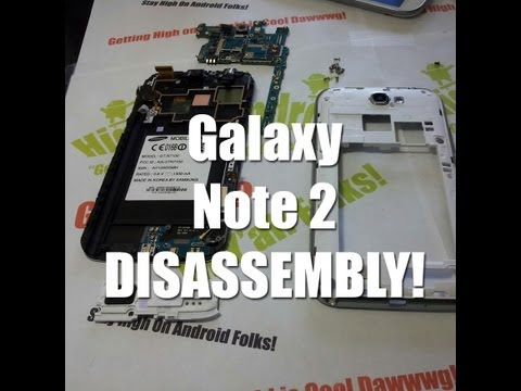 Galaxy Note 2 Disassembly & Assembly – Drop Test Repair