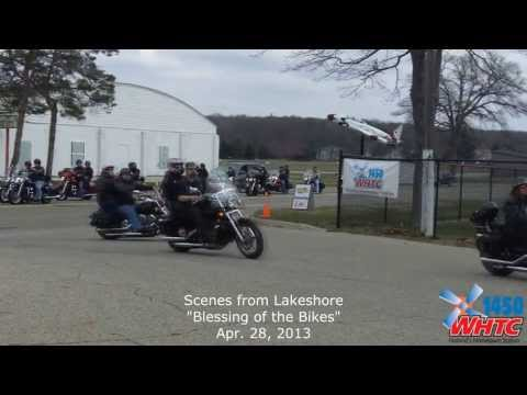 Video from the Lakeshore Blessing of the Bikes at the Ottawa County Fairgrounds on Apr. 28, 2013.