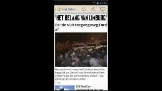 België Kranten YouTube video
