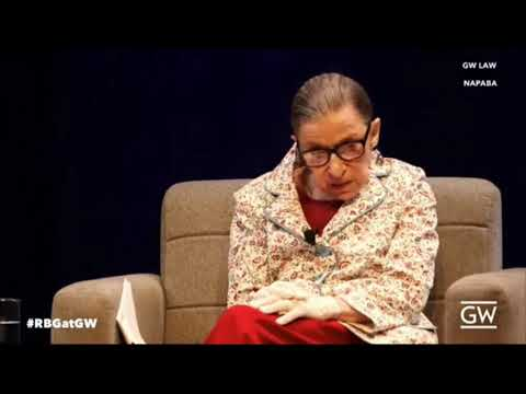 """Ruth Bader Ginsburg Criticizes Treatment Of Kavanaugh During SCOTUS Hearings, """"Highly Partisan Show"""""""