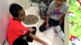 Bottle Flipping Challenge (Haiah Boyz Edition)