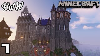 Let's Build a Castle #7 WIZARD TOWER : MINECRAFT 1.13.2 Survival Let's Play 163
