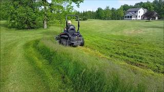 7. Spartan SRT-HD Cutting 2ft Ditch Grass Doesn't Bog ONCE!