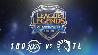 Video 100 vs. TL - Week 2 Day 1 | NA LCS Spring Split | 100 Thieves vs. Team Liquid (2018) MP3, 3GP, MP4, WEBM, AVI, FLV Juni 2018